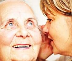 Altern in Würde