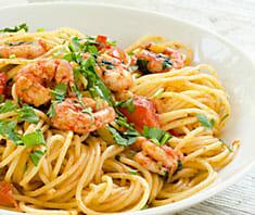 Spaghetti mit Radicchio