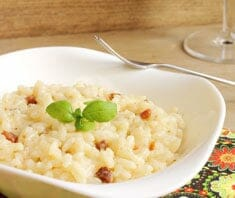 Risotto cremig