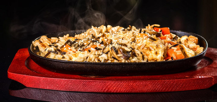 Basmatireis mit Rindfleisch-Curry | Rezept