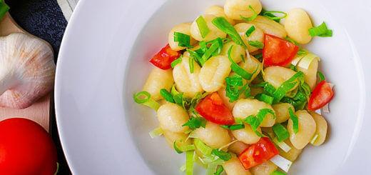 Gnocchi in Käseoberssauce   Rezept