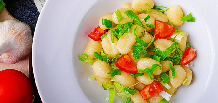 Gnocchi in Käseoberssauce | Rezept