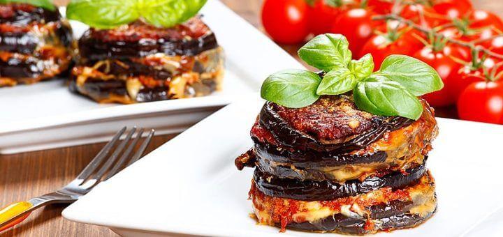 Melanzani mit Parmesan | Rezept