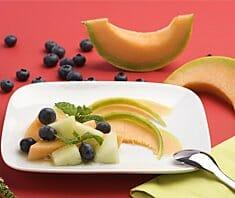 Melone mit Kokos | Rezept