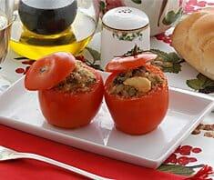 Tomaten mit Avocadocreme | Rezept