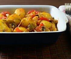 Kartoffelpfanne griechische Art | Rezept