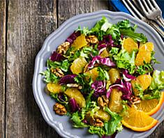 Radicchio Orangen Salat | Rezept