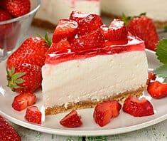 Erdbeer Buttermilch Torte | Rezept