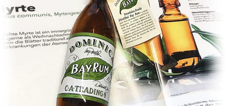 Die perfekte Männerpflege: Dominica Bay Rum