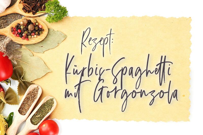 Kürbis-Spaghetti mit Gorgonzola | Rezept