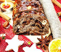 Früchtebrot Weihnachten | Rezept