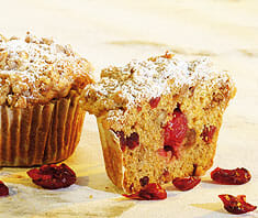 Walnuss-Cranberry-Muffins | Rezept