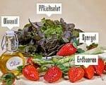 Erdbeer-Spargelsalat Rezept