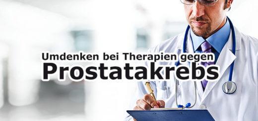 Therapie gegen Prostatakrebs: Experten fordern Umdenken
