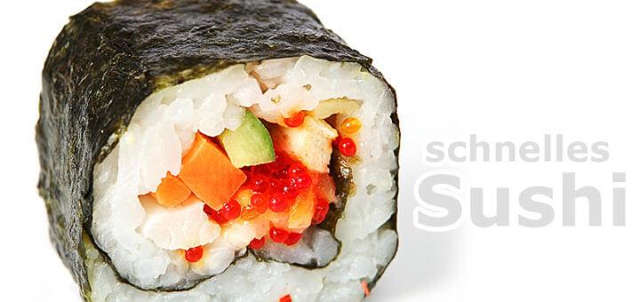 Schnelles Sushi | Rezept