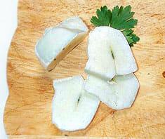 Vogerlsalat mit gebratenem Halloumi | Rezept