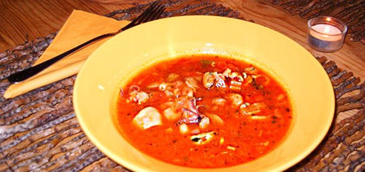 Adriatische Fischsuppe (scharf) | Rezept