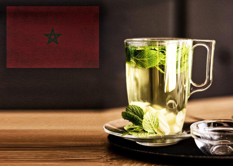 Marokkanischer Pfefferminztee | Rezept