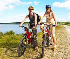 Fahrrad fahren – die ideale Sportart für den Rücken
