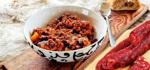 Texas-Chili mit Chorizo | Rezept