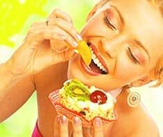 Essen und gute Laune