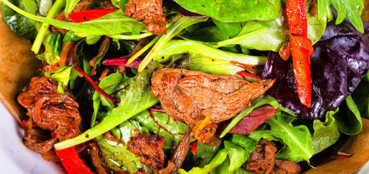 Thailändischer Rindfleischsalat (Yam Nuea Yang) | Rezept