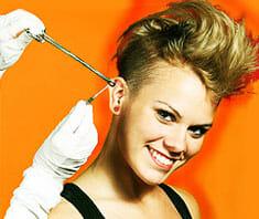 Piercing: Schmuck ohne Schmerzen?