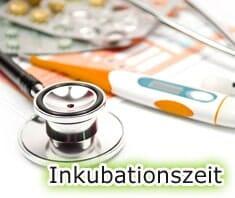 Medizinlexikon: Inkubationszeit