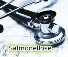 Medizinlexikon: Salmonellose