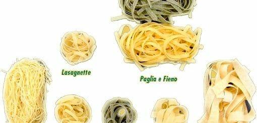 Pasta,Teigwaren und Reisnudeln
