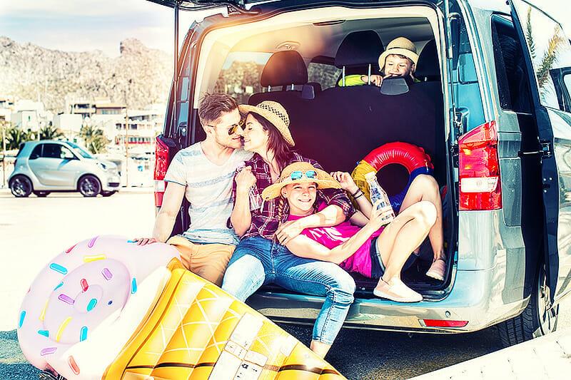Tipps für die Autofahrt in den Urlaub