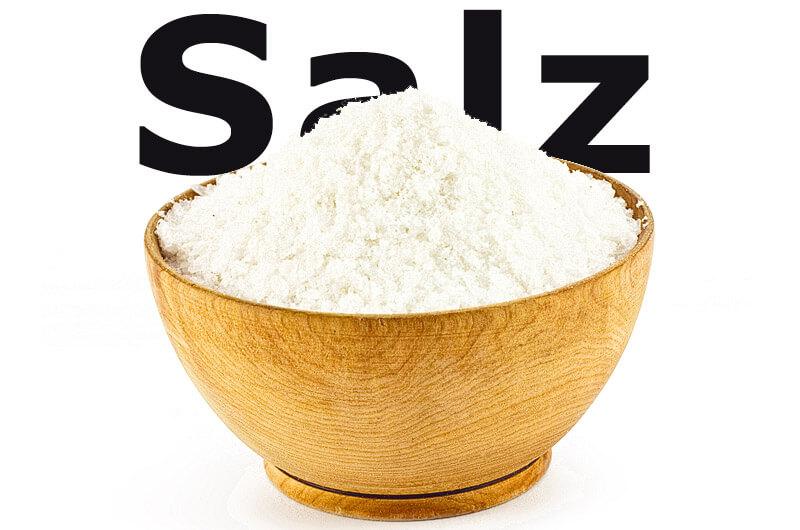 Salz ist für den Menschen lebenswichtig