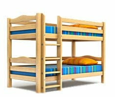 gefahrenquelle stockbett j hrlich 1000 verletzte kinder. Black Bedroom Furniture Sets. Home Design Ideas