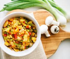 Gemüsepaella