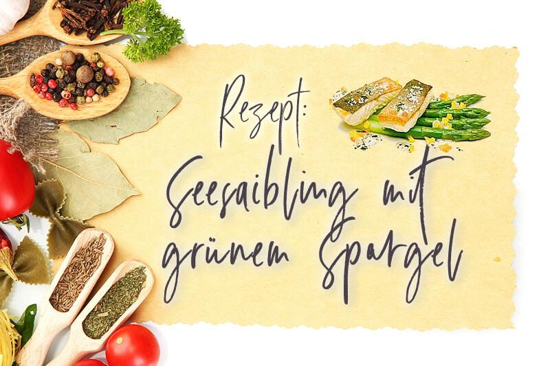 Seesaibling mit grünem Spargel | Rezept