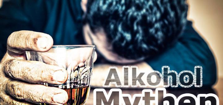 Die zehn größten Alkohol-Mythen