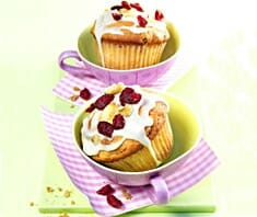 Cranberry-Apfel-Muffins