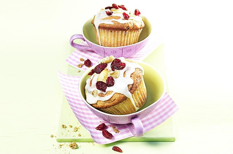 Cranberry-Apfel-Muffins | Rezept