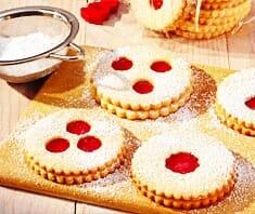 Linzer Augen, beliebte Weihnachtsbäckerei