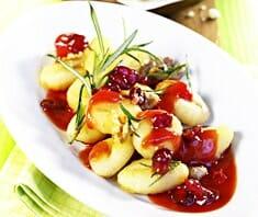 Gnocchi Tomaten-Sauce, Cranberry