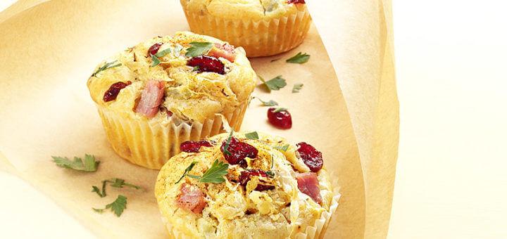 Sauerkraut-Cranberry-Muffins | Rezept
