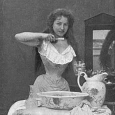 Zahnpflege zu Ende des 19. Jahrhunderts
