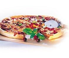 Cranberry-Pizza mit Putenfleisch