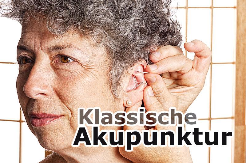 Klassische Akupunktur - Ohr-Akupunktur