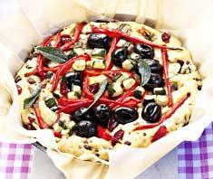Gemüsekuchen Cranberries