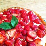 Erdbeertorte mit Puddingcreme | Rezept