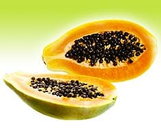 Papayas, gesund