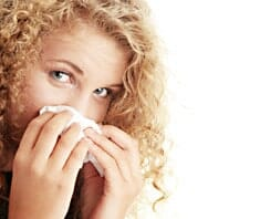 Sinusitis, Nasennebenhöhlenentzündung, Sommer