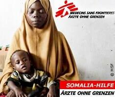 Dürrekatastrophe Somalia, Ärzte ohne Grenzen