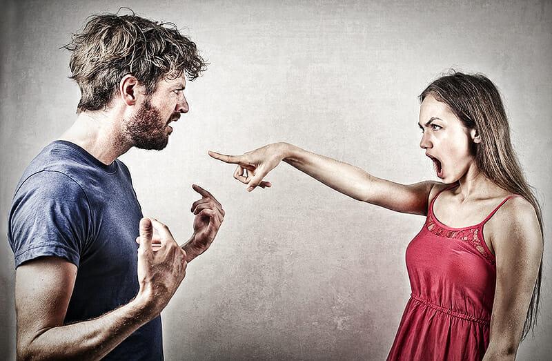 Eifersucht, Streit